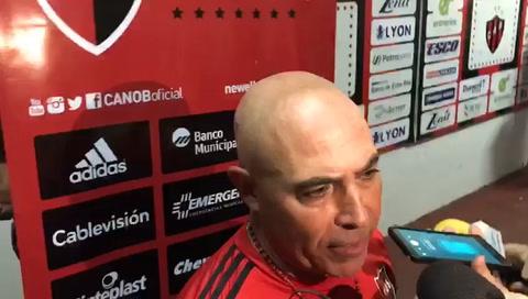 Llop: Me voy conforme con el resultado, hasta la roja hicimos un buen partido