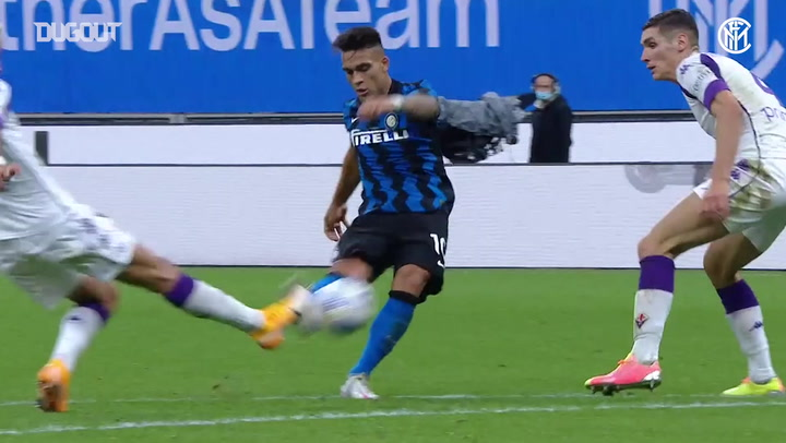 Inter net two late goals to beat Fiorentina 4-3