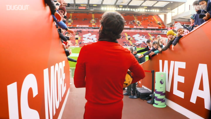 Behind the scenes: Liverpool record 4-0 victory over Southampton at Anfield