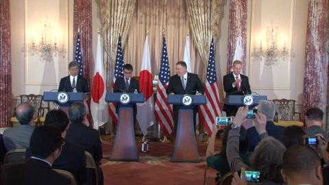 Pompeo dice seguir a cargo de negociaciones con Corea del Norte