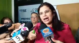 Rixi Moncada electa nueva presidenta del CNE