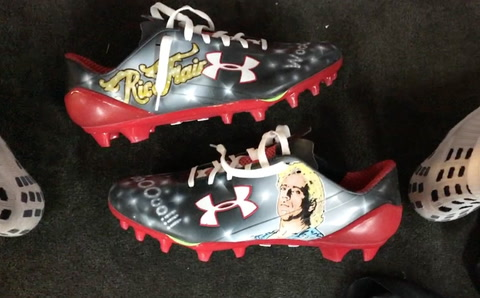 Mohamed Sanu Goes Ric Flair On The Field