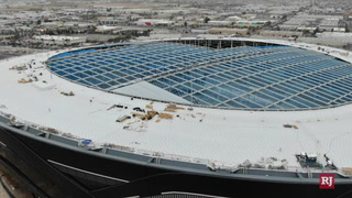 Allegiant Stadium roof installation begins – Video