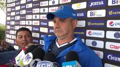Diego Vazquez le desea éxitos a Henry Figuera tras fichar con Marathón