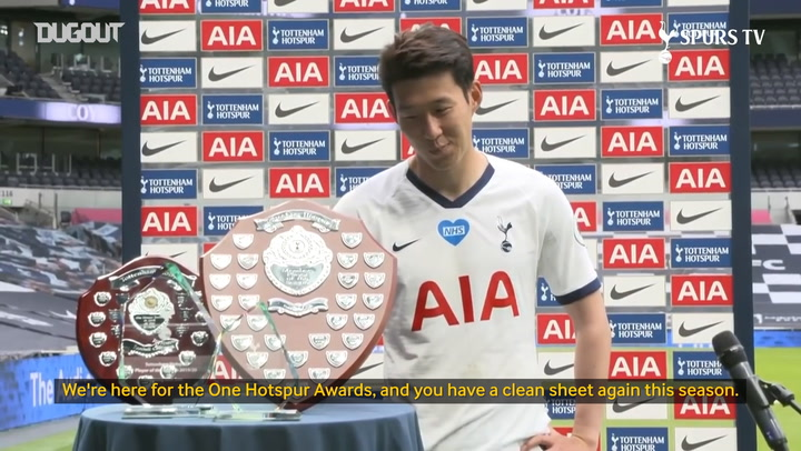Heung-min Son scoops all of Tottenham's end of season awards