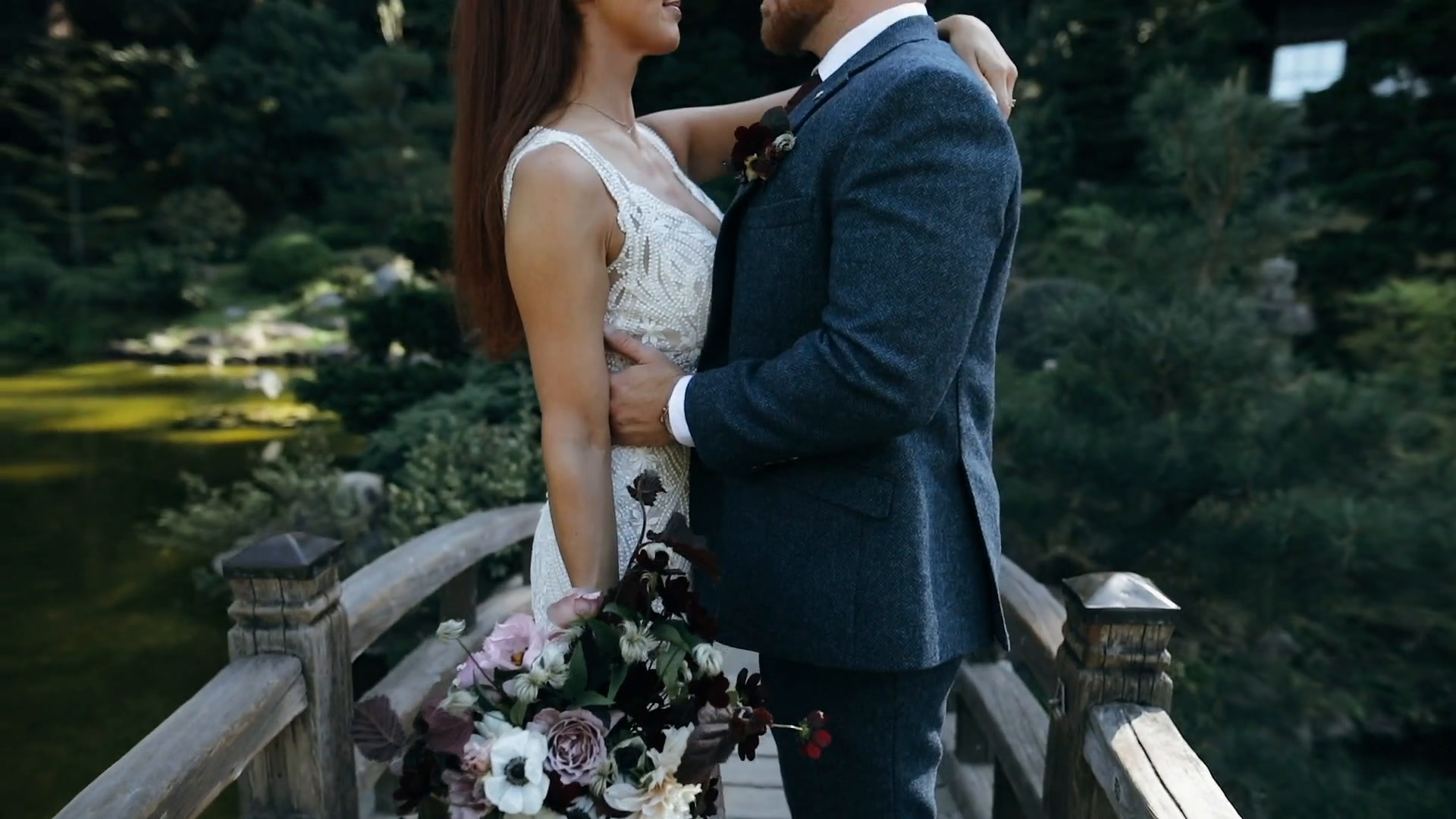 Shannon + Travis | Saratoga, California | Hakone Estate Gardens