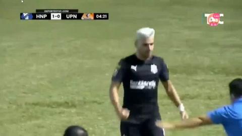 Honduras Progreso  4-0 UPN (Liga Salvavida)