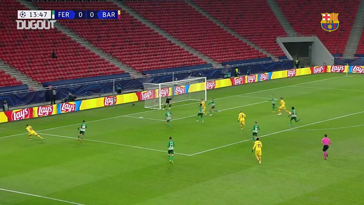 Highlights: Ferencváros 0-3 FC Barcelona