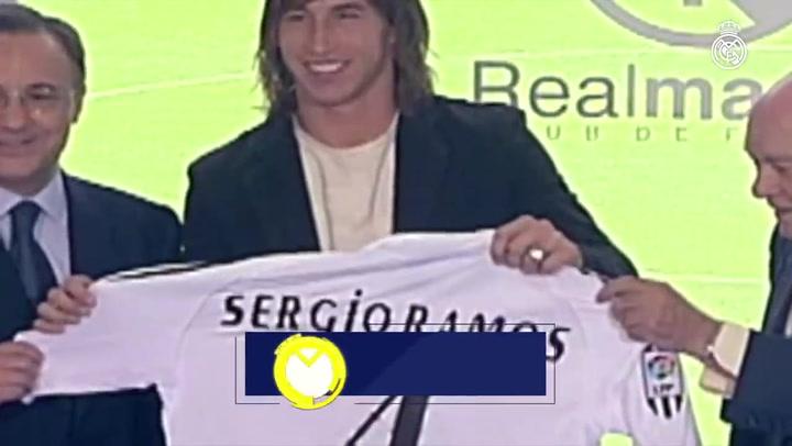 Sergio Ramos, 15 años de éxitos con el Real Madrid