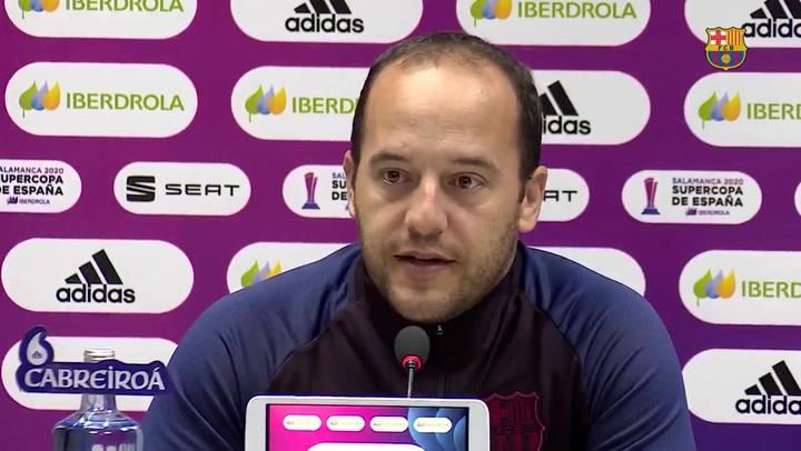 Declaraciones Luís Cortés previas a la final de la Supercopa