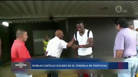 Rubilio Castillo jugará en el tondela de Portugal