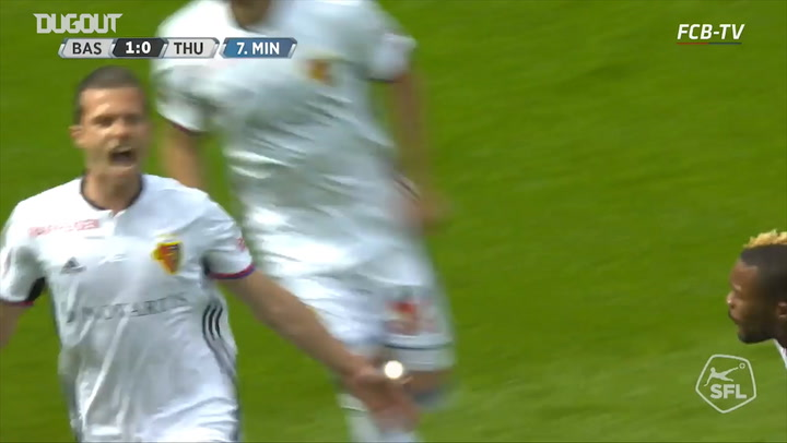 Throwback: FC Basel 1893 6-1 FC Thun
