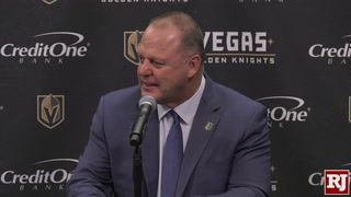 Golden Knights React To Loss Against Ducks
