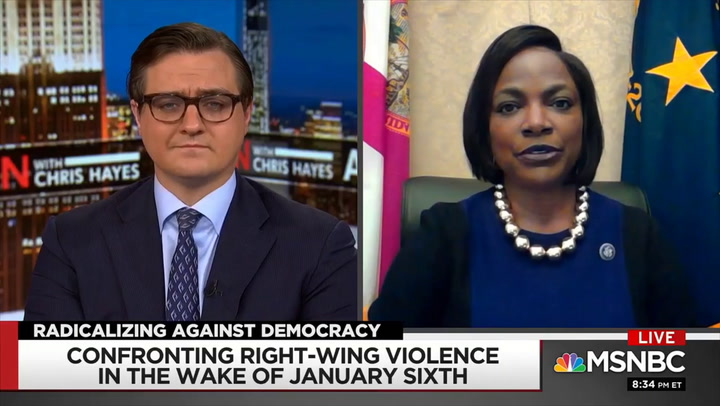 Demings on Fear Gov't Will Target Right: It's Not Whole GOP, But Participants 'By Omission or Commission Deserve to Be Held Accountable'