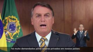 Bolsonaro reconoce buena relación con Trump a días de presidenciales en EEUU