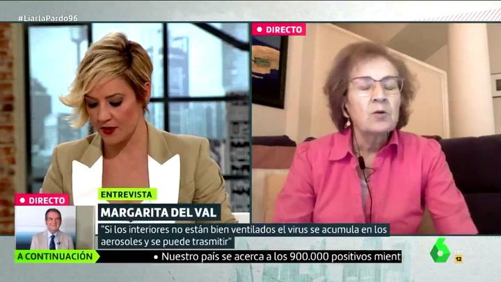 Margarita del Val alerta de lo pasará ahora con el coronavirus en España