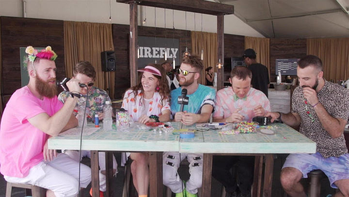 MisterWives Makes Impressive Art While Discussing New Album and First Concerts