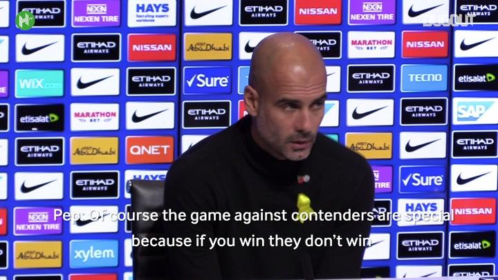 Pep Guardiola: I Prefer The Sex