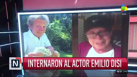 Emilio Disi fue internado en grave estado