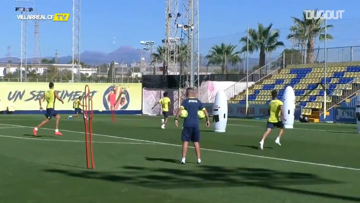 Kubo's best moments in Villarreal training