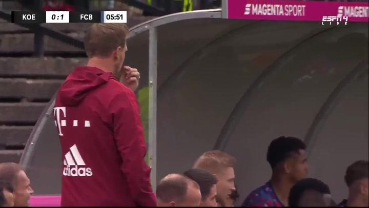 Nagelsmann debuta en el Bayern con derrota en Colonia (3-2)