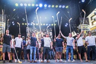 Golden Edge: Golden Knights Stick Salute To Fans