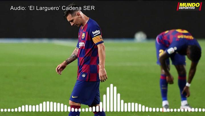 La SER dice que Messi para su renovación pero al club no le consta