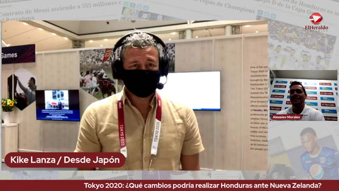Tokyo 2020: ¿Qué cambios podría realizar Honduras ante Nueva Zelanda?