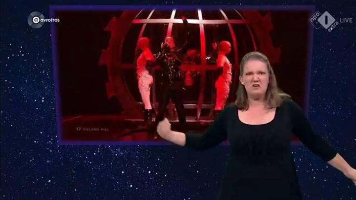 La actuación de Islandia en Eurovision en lenguaje de signos que triunfa en las redes