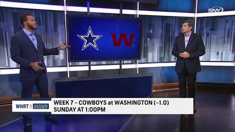 What are the Odds: See why Washington is favored over Dallas in Week 7