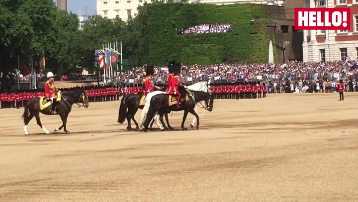 Trooping the Colour highlights