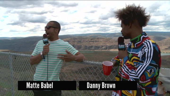 "Festivals: Sasquatch 2013:Danny Brown ""I'd Rather Do Drugs Than Sell Them at This Point"""
