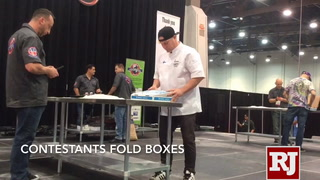 World Pizza Games showcased in Las Vegas