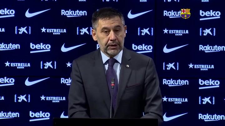 """Bartomeu: """"¿Messi? Pusimos por delante los intereses del club"""""""