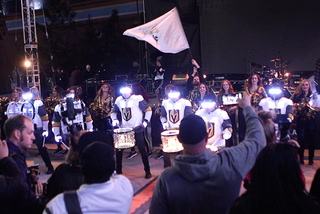 Pep rally kicks off massive sports weekend in Las Vegas