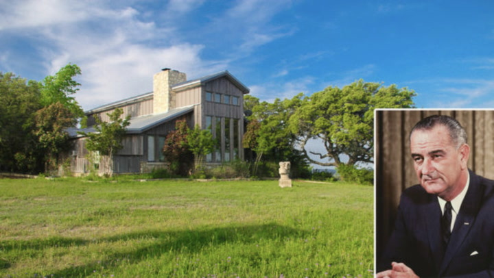 President Lyndon Johnson's Former Ranch in Texas Hits the Market