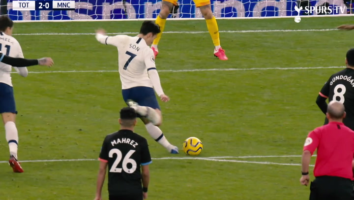 Heung-min Son's best goals against Manchester City