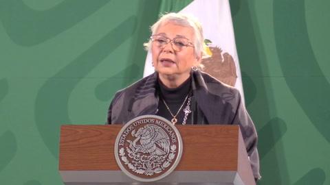 López Obrador está bien y fuerte tras contraer coronavirus, dice ministra