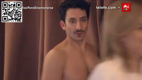El desnudo completo de Juan Minujín en 100 días para enamorarse