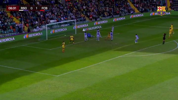 Final de la Supercopa Femenina de fútbol: Alexia Putellas marca el 0-2