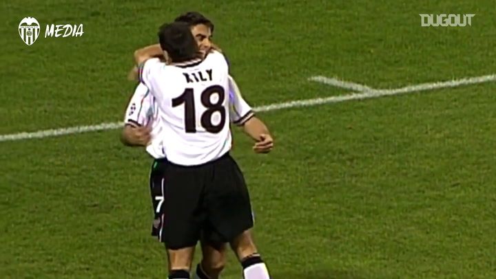 Claudio López's incredible volley goal vs PSV