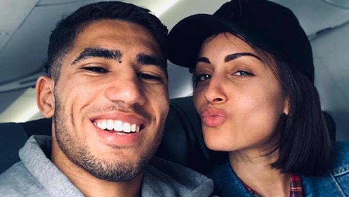 Hiba Abouk y Achraf Hakimi amplían la familia