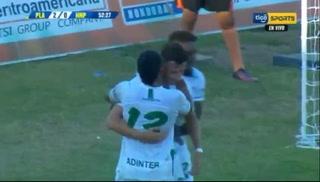 ¡GOL DE PLATENSE! Jefrey Floresanota el 2-0 ante el Honduras Progreso