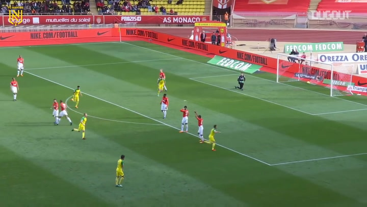 Adrien Thomasson's incredible volley vs AS Monaco