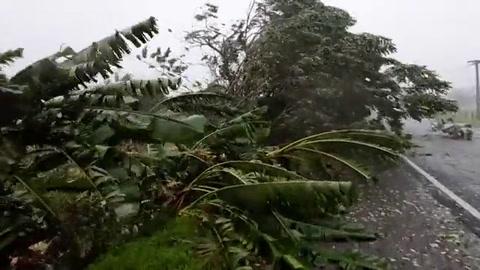 El ciclón tropical Harold golpea a Fiyi