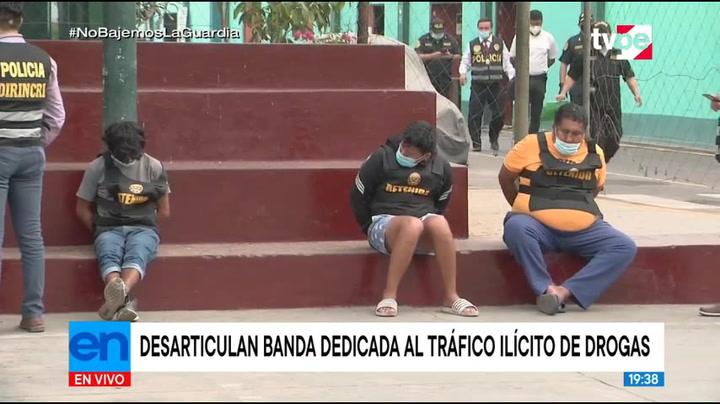 Atrapan a tres presuntos asaltantes con una pistola en Ancón | VIDEO