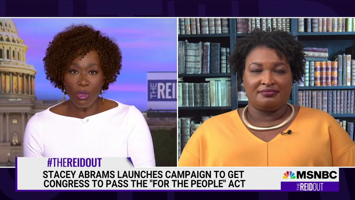 Stacey Abrams: 'The Insurrection Is Continuing' with Republican Voting Laws