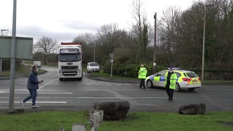 Alerta de bomba en fábrica de vacunas contra el covid-19 en el Reino Unido