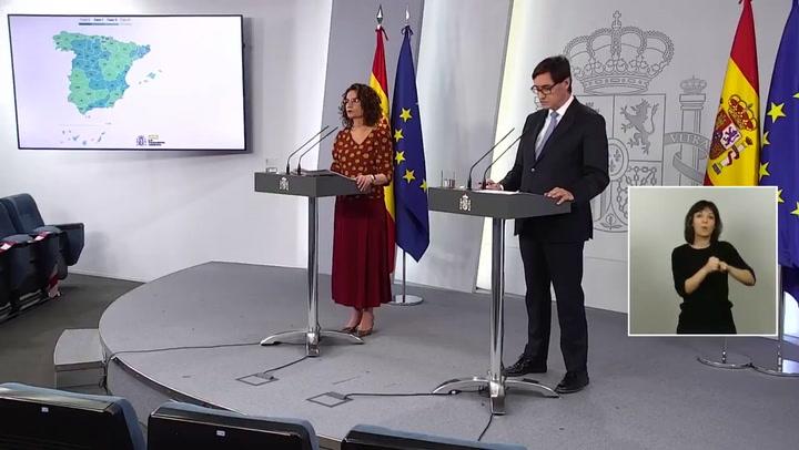 Barcelona y Madrid pasan a la fase 1 de la desescalada