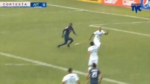 El doblete de Rubilio Castillo ante el Juticalpa FC